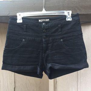 Mossimo Black Jean Shorts